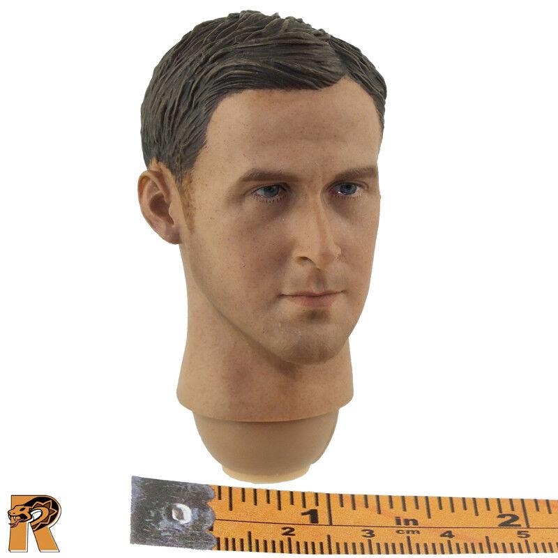 Drive Driver Ryan - Head (Gosling) - 1 6 Scale - BBK Action Figures