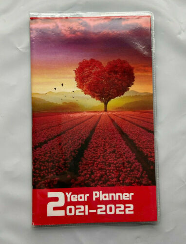 2021 2022 2 Year 2YR Calendar Appointment Agenda Monthly Date Pocket Planner 4x6