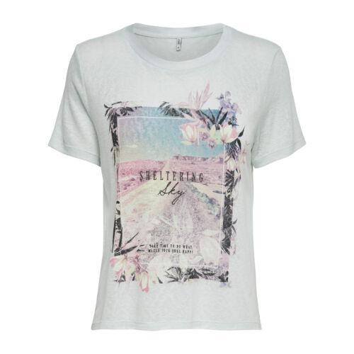 Women new arrival T-shirt top woman 023840 women printed tee shirt fashion