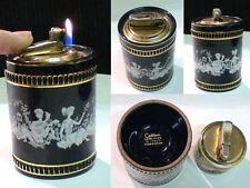 Briquet Ancien Bureau @ COLIBRI Support Céramique @ Lighter Feuerzeug Accendino