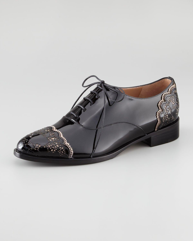 fino al 65% di sconto VALENTINO GARAVANI DERBY LACE ART ROMANTIC LACE UP OXFORDS EU EU EU 39.5 I LOVE scarpe  il più economico