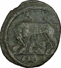 "Constantine I The Great Ancient Roman Coin Romulus & Remus ""Mother"" wolf i40032"