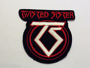 TWISTED SISTER IRON ON PATCH: HEAVY METAL PUNK ROCK MUSIC FESTIVAL SEW ON