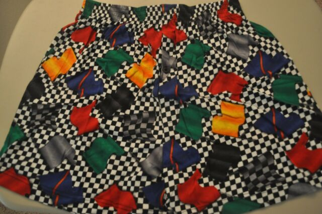 Boxer Shorts: Racing Flags Pinewood Derby  Large L Ralph Marlin New