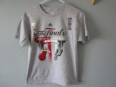 Baseball & Softball New-flaw Miami Heat Jugendliche Größe M Medium 10/12 Grau Adidas T-shirt 68ik