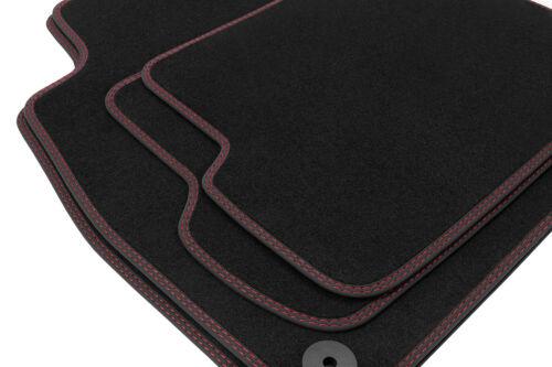 2016 Premium Doppelziernaht Fußmatten für Audi Q2 GA Quattro S-Line ab Bj