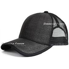 c3ba319c21c item 7 Trucker Hat Baseball Cap Mesh Snapback Adjustable Curved Visor Plain  Blank Mens -Trucker Hat Baseball Cap Mesh Snapback Adjustable Curved Visor  Plain ...