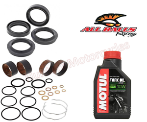 Honda-ST1100-NON-ABS-Model-Front-Fork-Bushes-Fork-Seals-amp-Dust-Seals-amp-OIl