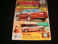 LE MONDE DE L'AUTO  FRENCH, JULY 1997  VOLVO C70°QUÉBEC MAGAZINE°