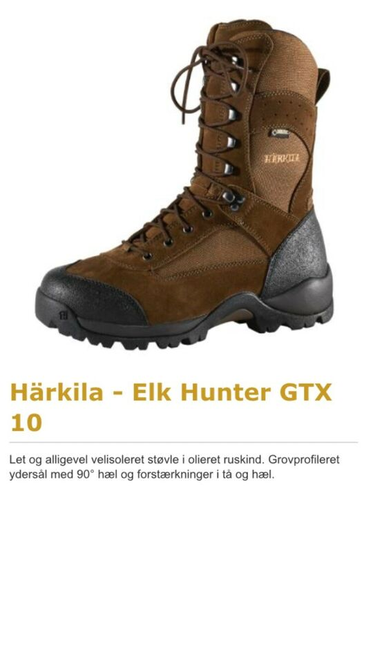 Jagtstøvler, Härkila Elk Hunter GTX