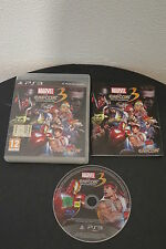 PS3 : MARVEL VS CAPCOM 3 III : FATE OF TWO WORLDS - Completo, ITA !