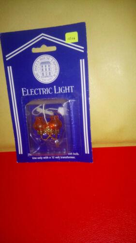CASA delle Bambole Illuminazione 2 BRACCI Arancione Vetro Shaded Muro Luce 7209