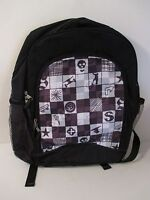 NWT Boys ATHLETECH Black Backpack~3 Zipper Sections~2 Water Bottle Sections