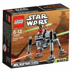 LEGO-Star-Wars-75077-Homing-Spider-Droid-Planet-Geonosis-Microfighters-Serie-2