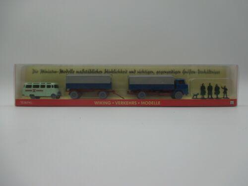 Wiking:PMS Nr.19 m SSK26 * Figuren Henschel HS16 Pritschen-LKW MB 319 Bus u