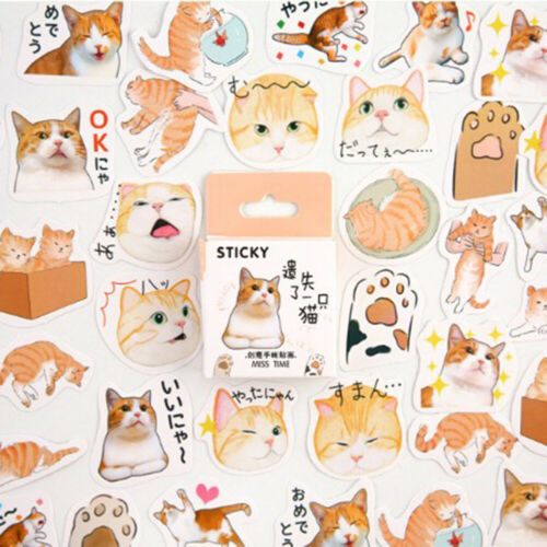 Diary Label Paper Sticker Photo Journal Stickers Scrapbooking Album Book Decor
