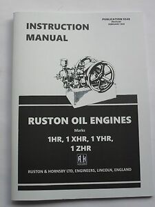 Ruston-amp-Hornsby-Instruction-Manual-for-1HR-1XHR-1YHR-amp-1ZHR