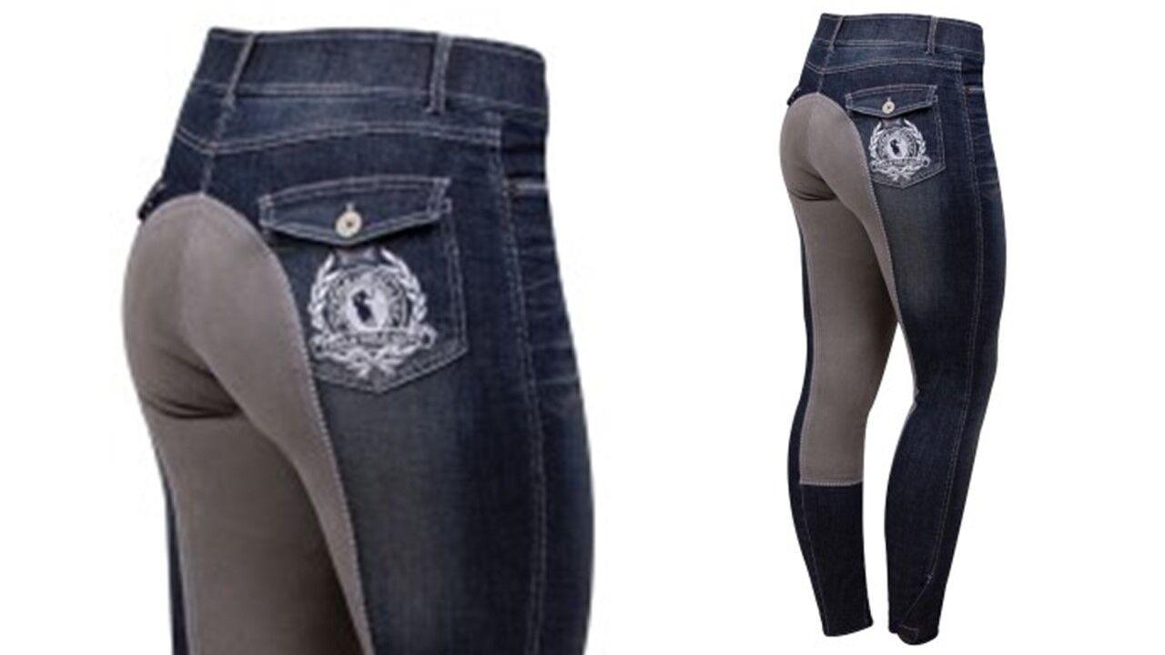 HV polo reithose lubaro ribete de pleno Denim Jeans 36 38 40 42 44 72 76 80 84