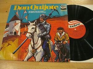 LP-Don-Quijote-Hoerspiel-Cervantes-Saavedra-Vinyl-Zebra-Jugendserie-91-277