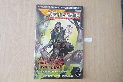 Gw Warhammer Mensile-issue 29 2000 Ref:1416-mostra Il Titolo Originale Morbido E Leggero