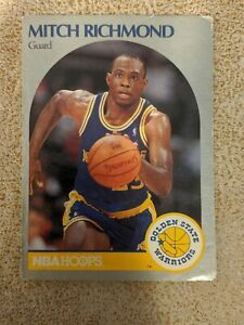 CROMO-BALONCESTO-NBA-1990-CARTON-118-MITCH-RICHMOND
