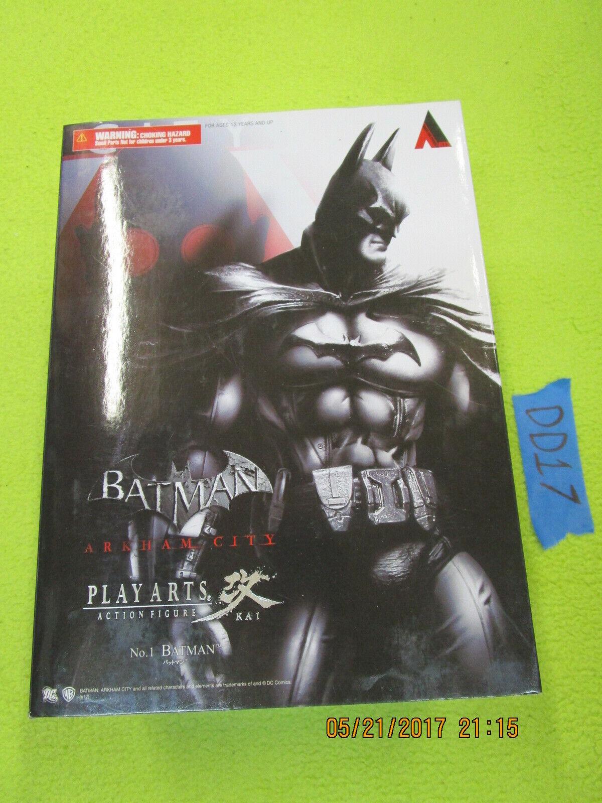 EE17_13 Square Enix Lot ARKHAM CITY BATMAN Play Arts KAI No. 1 asylum
