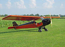 Giant 1/5 Scale 1935 Taylor E-2 Cub Plans, Templates and Instructions
