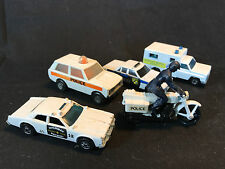 Matchbox Hot Wheels Diecast Toy LOT State Highway Police Ambulance Motorcycle
