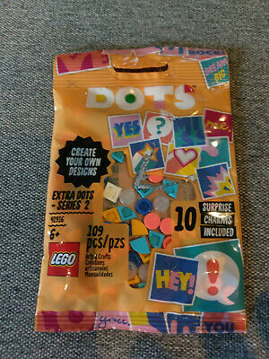 Go Team Bracelet 41911 /& 2 Dots 41916 w// 10 Surprise Lot Of 4.. LEGO DOTS 2 4