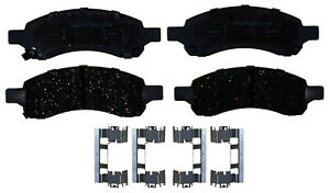 ACDelco 14D1169ACH Advantage Ceramic Front Disc Brake Pad Set with Hardware