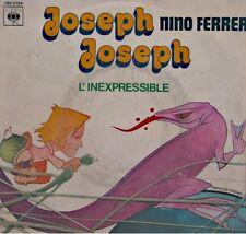 ++NINO FERRER joseph joseph/l'inexpressible SP 1978 CBS FRANÇOIS THOMAS VG++