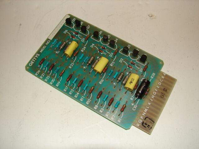 GETTYS 44-0035-100 PC BOARD ****XLNT****