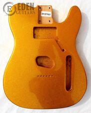 Eden Standard Series Alder Body for Telecaster Guitar Gold Flake