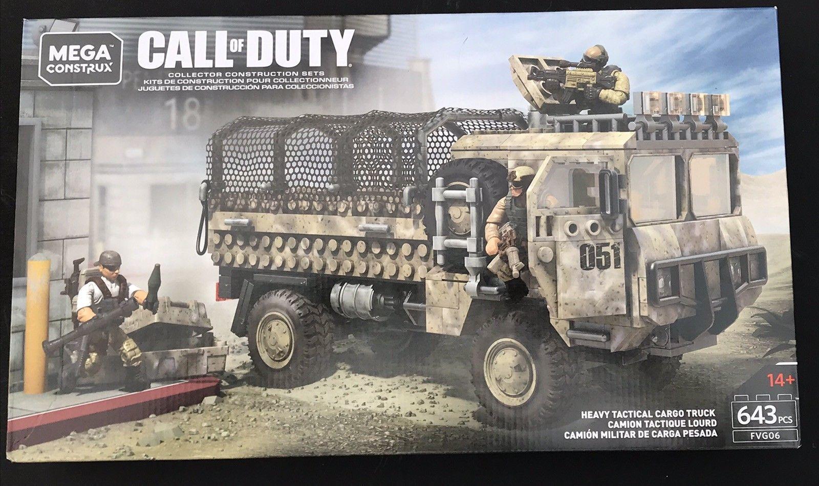 Mega Construx Call Of Duty Transport Lkw FVG06 Extemely Selten & Htf