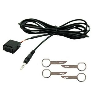 FORD-MONDEO-FOCUS-6000CD-AUX-IN-INPUT-ADAPTER-CABLE-LEAD-IPOD-MP3-PHONE-JACK-HTC