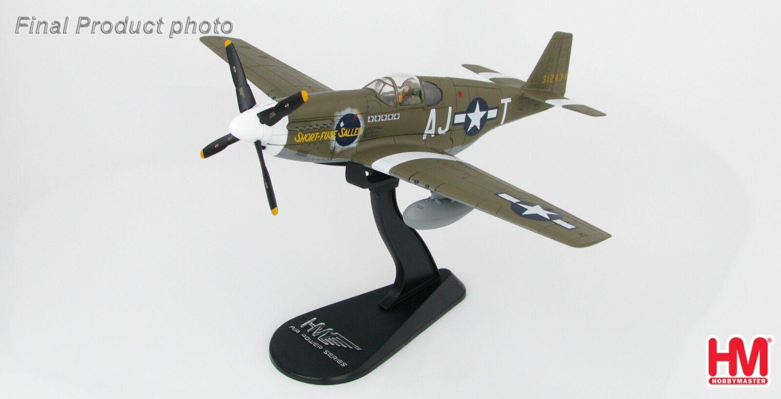 P-51B  court-Fuse Sallee   1944 Hobby Master 1 48 HA8509  80% de réduction