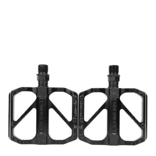 1 Paar Fahrradpedale Aluminum Flatpedale 9//16 Mountain Rennrad MTB Pedale