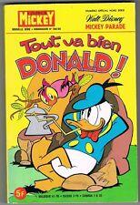 TOUT VA BIEN DONALD ! - MICKEY-PARADE N° 1398 BIS - 1979 - TRÈS BON ÉTAT
