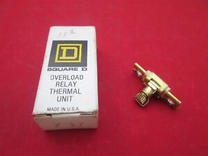 Square-D-Overload-Relay-Thermal-Unit-Heater-A13-2-new