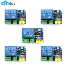 5x Esp8266 Esp 0101s Relay Module For Arduino Iot Smart Home Internet Of Thing