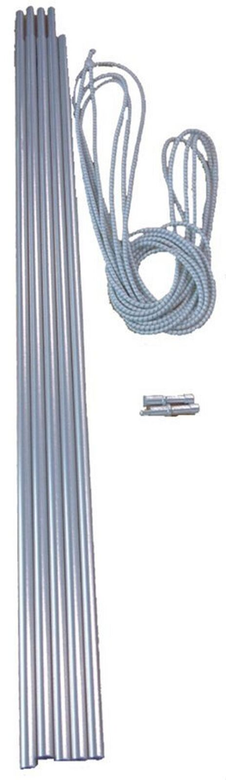Neuf Vango Alliage Corded 9.5mm Tente Polaire Set Camping Camping Camping Equipment Argent eb7f79