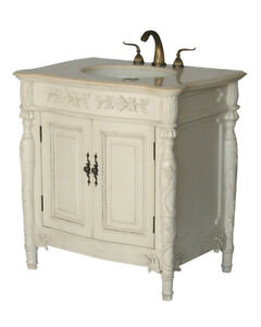 32 Inch Antique Style Single Sink