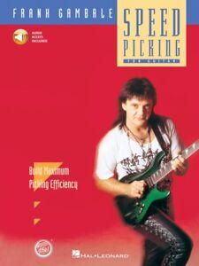 Vitesse Picking Frank Gambale-stylistique Method Book And Audio 000070033 Neuf-afficher Le Titre D'origine
