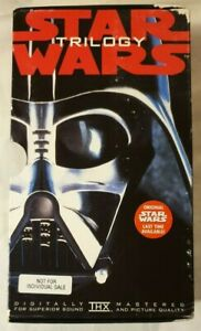 Star Wars Trilogy Vhs 1995 Digitally Mastered Box Set George Lucas 20th Cent Fox Ebay