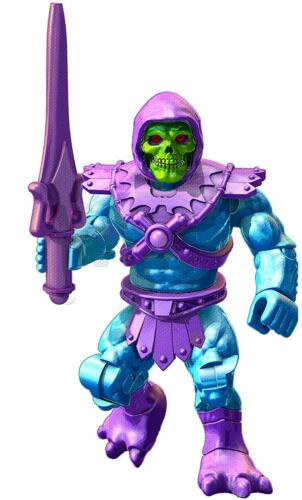 ULTRA RARE Mega Construx Skeletor W Battle Sword Masters Of The Universe MiniFig