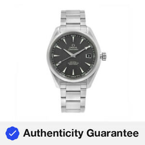 Omega Aqua Terra Grey Dial Steel Automatic Mens Watch  231.10.42.21.06.001