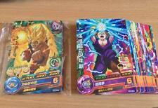 Carte Dragon Ball Z DBZ Dragon Ball Heroes God Mission Part 5 HGD5 #Rare/Reg Set