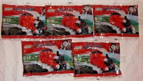 LEGO new PROMO POLYBAG Baggie set lot x5 40028 HARRY POTTER Hogwarts Express