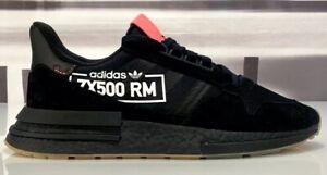 Details about NEW Adidas Zx 500 Rm Alphatype Shoes Black Gum BB7443 Boost Men's Size 11
