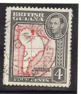 2019 Mode British Guiana 1938-52 Early Issue Fine Used 4c.